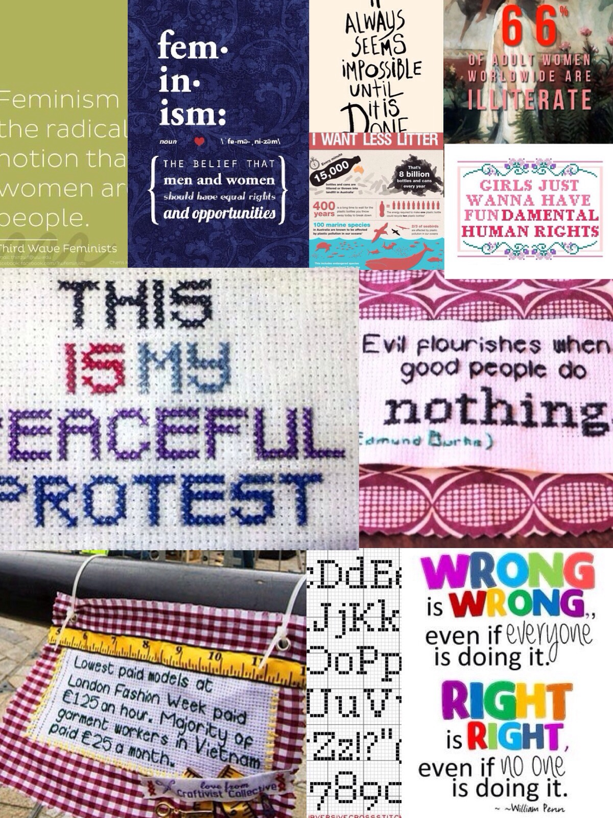 Some Craftivist Ideas