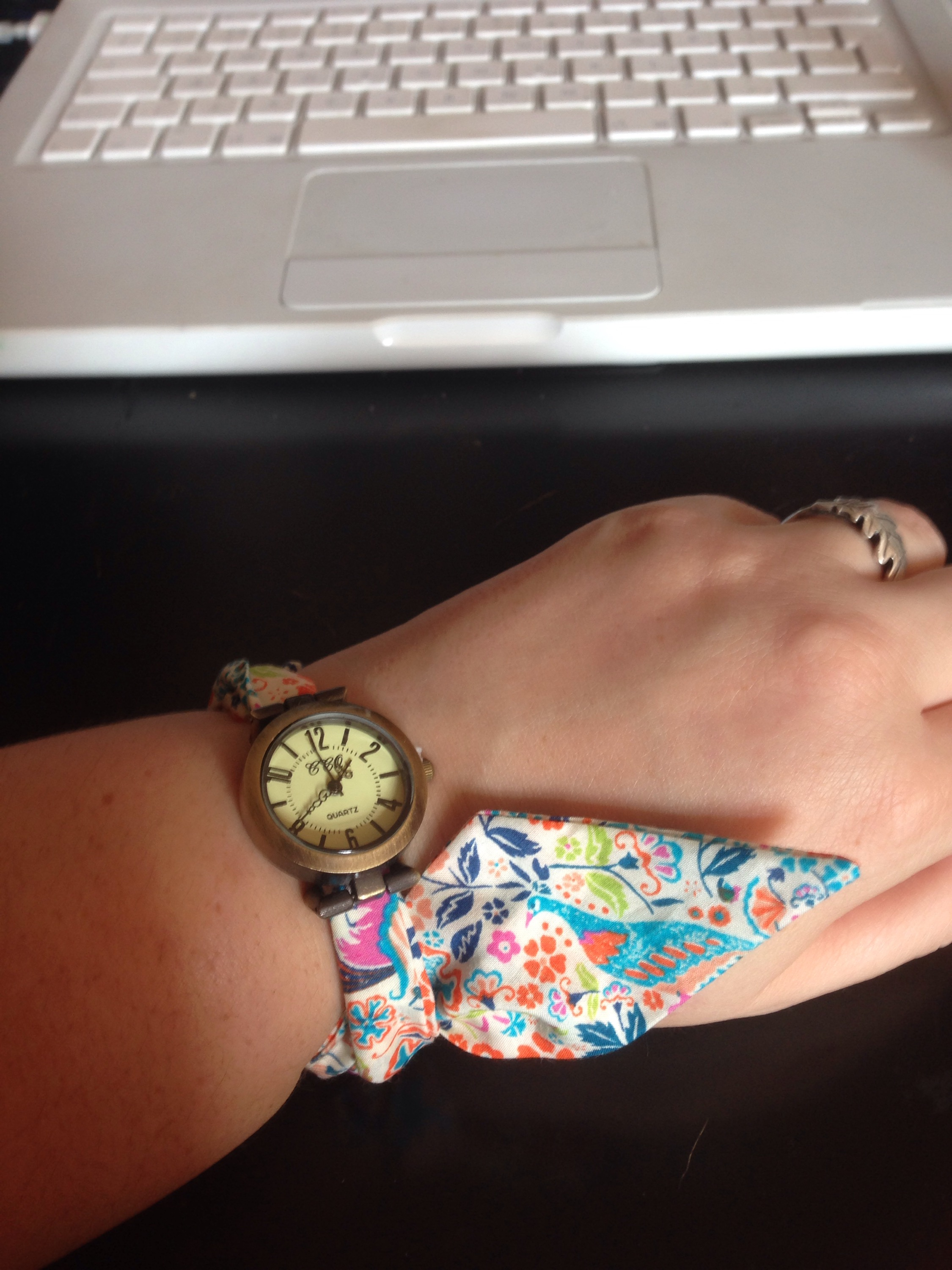 I'm wearing one of my Liberty Fabric Watches today❤️