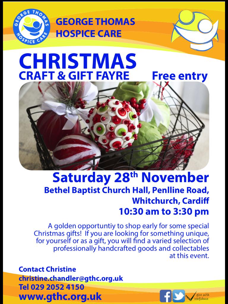 Craft fair onSaturday!